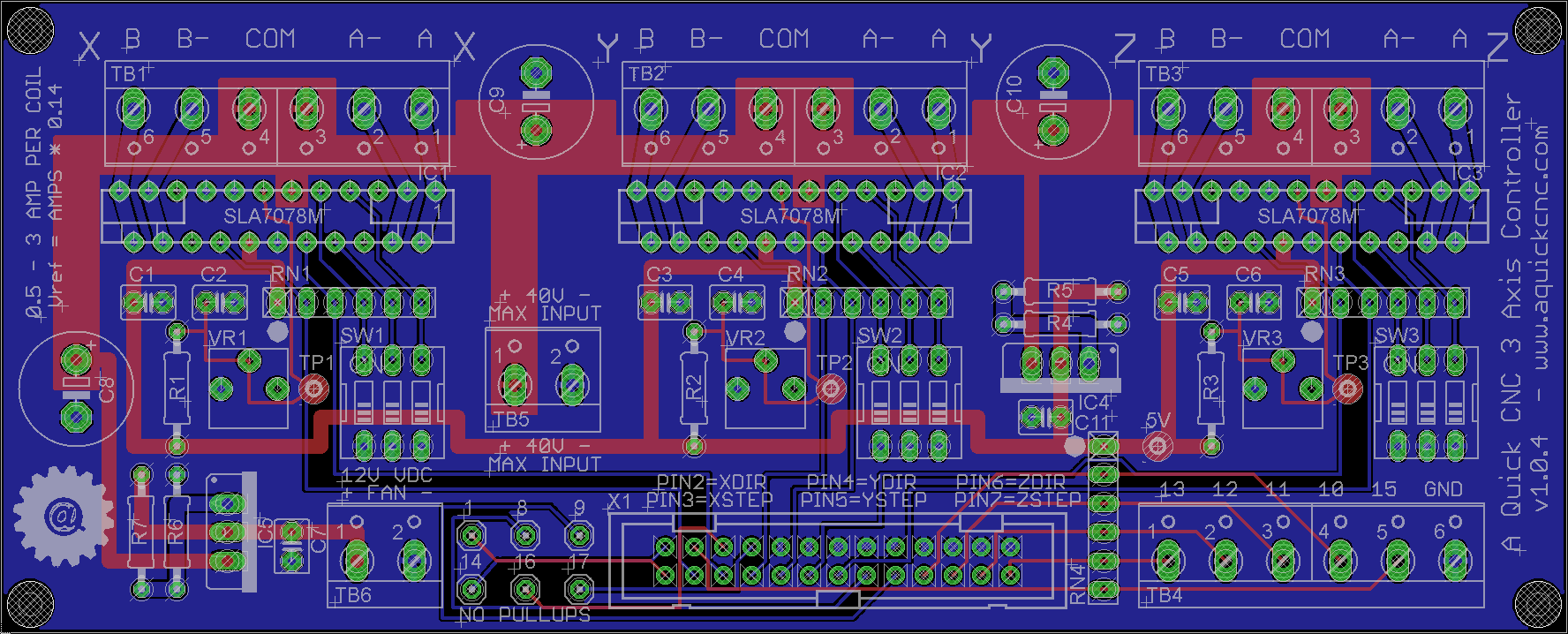 Diy Cnc Controller A Quick Wiki Wiring Diagram 3 Axis Board