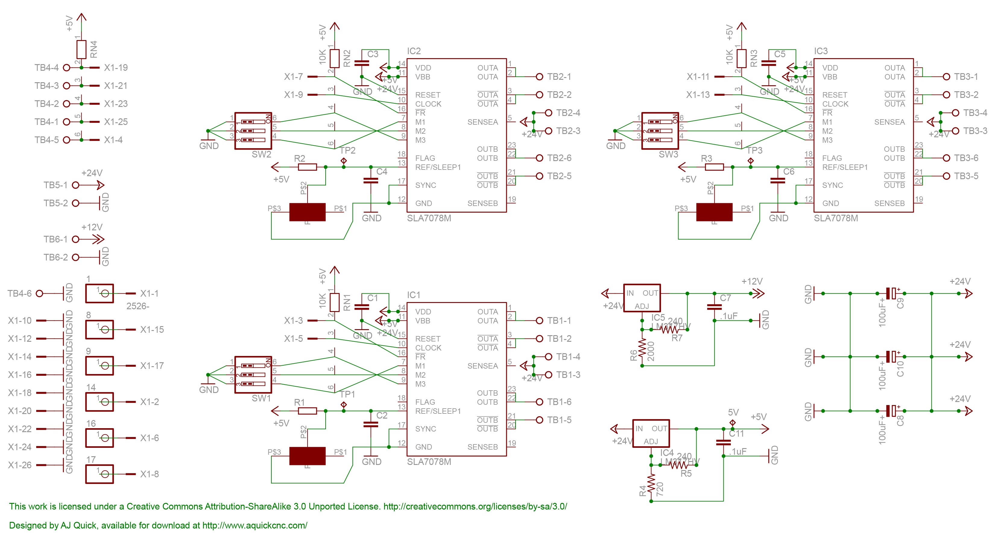 3_Axis_DIY_CNC_Controller_Schematic diy cnc controller a quick cnc wiki cnc controller wiring diagram at bayanpartner.co