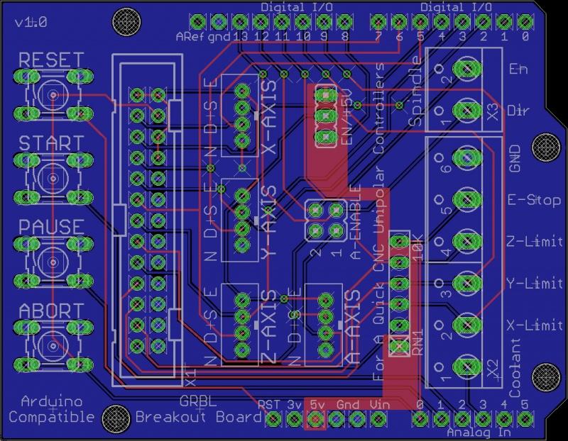 Grbl Breakout Board - A Quick CNC Wiki